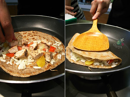 熱的墨西哥式酥餅