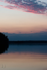 """Evening blue (Chrisseee) Tags: blue sunset lake clouds canon finland sysmä puple """"flickraward"""" kristiinahillerström chrisseee joutsjärvi"""