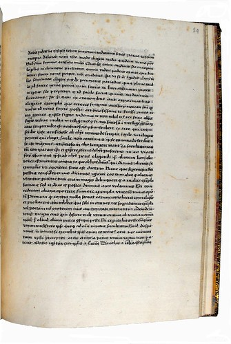 Page of text from 'Rhetorica ad C. Herennium'. Sp Coll Hunterian Bg.2.29.