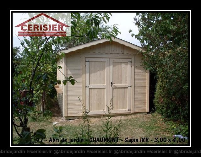 Abri de jardin CHAUMONT by cerisier77310