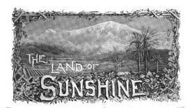 California Land of Sunshine