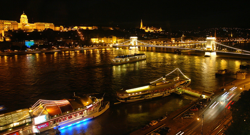 View from our Hotel Room, Intercontinental Budapest