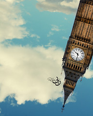 (  | Ruba , [ AWAY ]) Tags: sky london clouds big crazy ben bigben direction aid