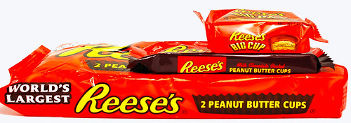 Reese's Peanut Butter Cup 3 Sizes Packaging Stacked