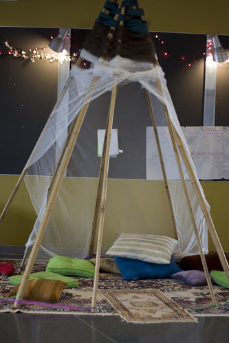 Permaculture Nap Teepees
