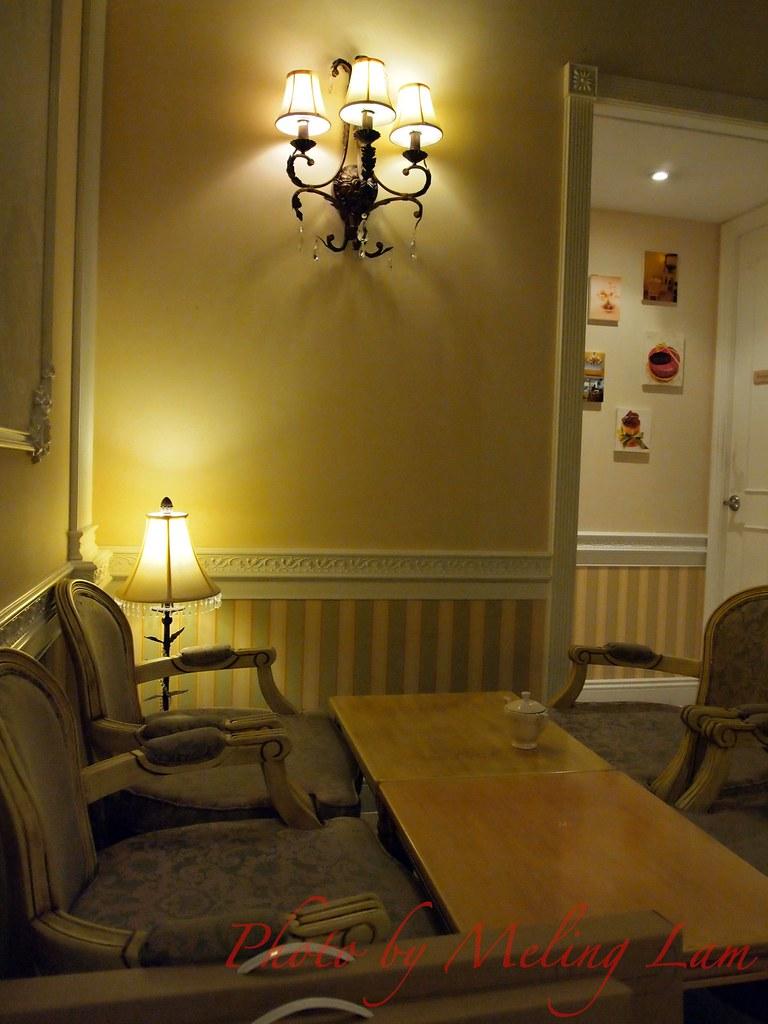 antique tea room