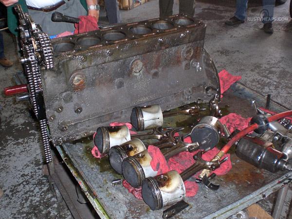 XK Engine Teardown: The Wreckage