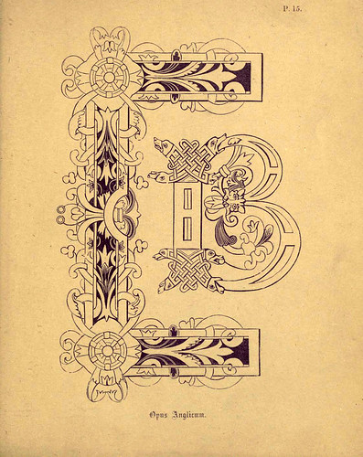 005 Lamina para ejercicios del grabado anterior-A primer of the art of illumination for the use of beginners.. 1874-Freeman Delamotte