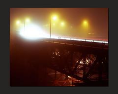 Semi-Abstract (RZ68) Tags: sanfrancisco bridge light 120 fog night mediumformat lights golden gate san francisco long exposure glow under foggy trails velvia goldengatebridge goldengate below 6x7 underneath streaks provia rz67 ggb e100 rz68