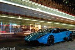 Lamborghini Murcielago LP670-4 SV [EXPLORED] (Richard T Smith) Tags: uk london night ana nikon shot united 4 ghost kingdom rolls 1855mm lamborghini supercar royce sv supercars murcielago d60 althani hypercar lp670