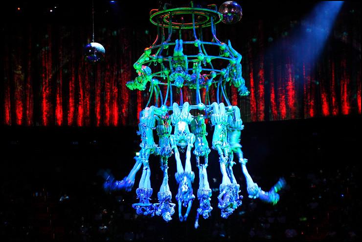 human-chandelier