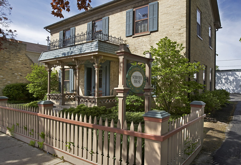 Schroeder Guest House at Washington House Inn, Cedarburg, WI