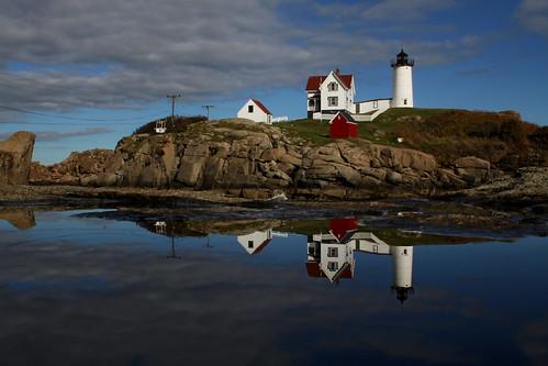 """Cape Neddick (""""Nubble"""") Lighthouse [Nubble Light]"""