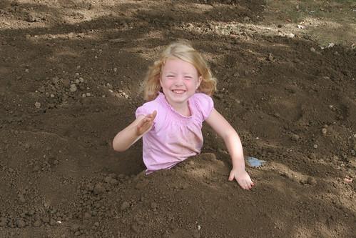 Spreading Dirt