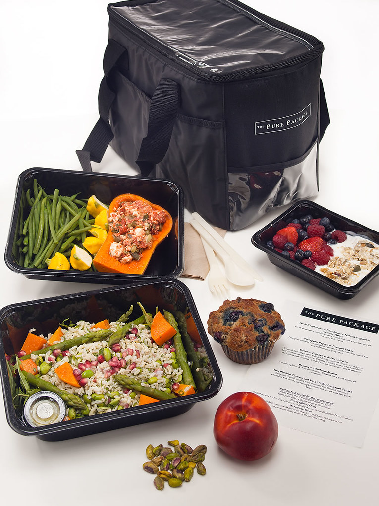 Whole Day Bag - The Pure Package Gourmet Diet Delivery