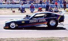 Tripp Shumake's 'Little Hoss' Funny Car 1978 (ChrisK48) Tags: dragracing funnycar phoenixaz mesaaz february1978 littlehoss trippshumake johnnyloper beelinedragway
