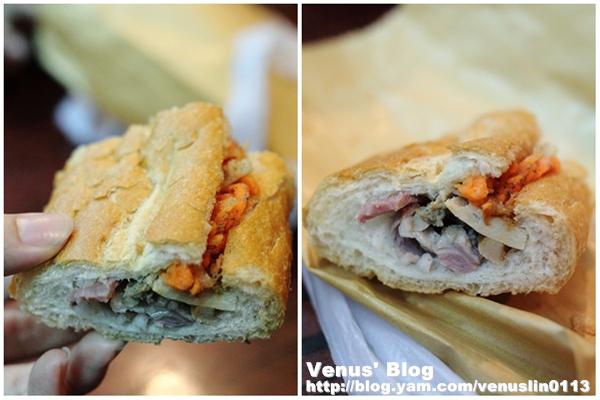 添记的越南口味法式三明治,非常好吃,外面的法国面包酥酥脆脆的,口味图片