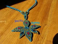 Αστεράκι της Γαύδου (pacificdaphne) Tags: handmade collar macrame makrame artesania hechoamano macramé χειροποίητο κολιέσ μακραμέ