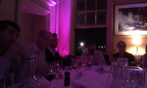Social media dinner with Dell