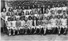 All Saints School Stamford 1946 - teacher Miss Brown