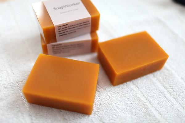 胭脂樹四倍母奶皂