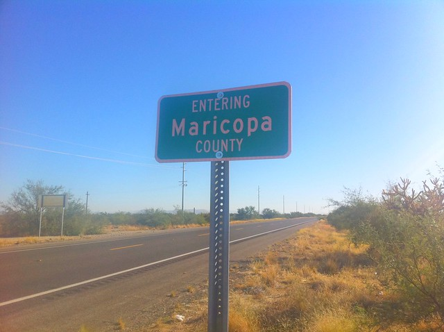 Now entering Maricopa County