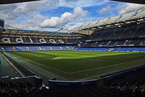 Een klassiek Engels stadion.