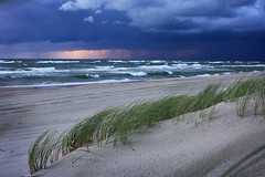 stormy sea (RoYaLHigHnEsS1) Tags: sea seascape storm water clouds sand baltic
