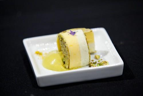 Pastry Chef Toni Roberts' pre-dessert