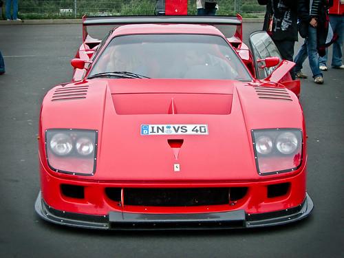 Ferrari F40 Gte. Ferrari F40 GTE