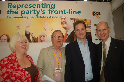Nick Clegg exhibition tour Sept 10 14