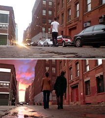 Vanilla Sky Dream Street (GazTruman) Tags: new york city nyc cruise sky newyork film tom america movie apartment flat sofia dream location tomcruise vanilla lucid filming vanillasky penelopecruz movielocations reinactment cameroncrowe filminglocations luciddream