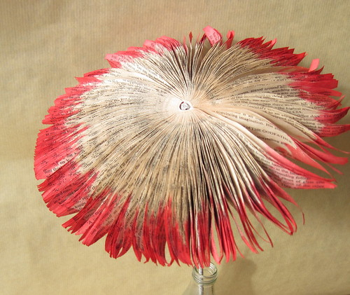 Red Book Art Flower