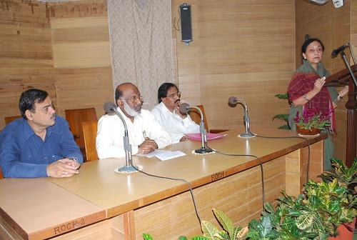 AMU Vice Chancellor Prof. P. K. Abdul Azis in te
