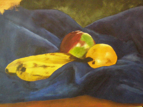 Still life in acrylic