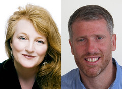 Krista Tippett and Paul Raushenbush at PRPD