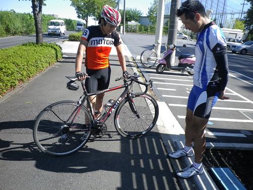 小山田周回中のZikouさんを捕獲