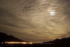 Last night in Fáskrúðsfjörður (*Jonina*) Tags: sky moon night clouds iceland village ísland nótt ský himinn tunglið fáskrúðsfjörður faskrudsfjordur þorp absolutelystunningscapes