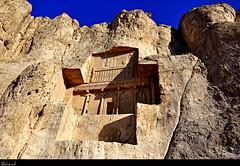 Naghshe Rostam (Behzad No) Tags: persian iran shiraz fars naghsherostam parseh nikond90 behzadno