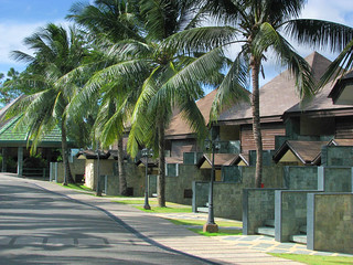 Arriving at Bohol Tropics Resort