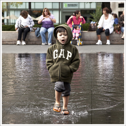 Boy In Crown Fountain
