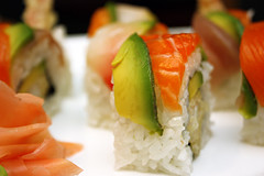 Rainbow Roll (gtsomething) Tags: food fish japan sushi japanese salmon japanesefood tuna rainbowroll japanesecuisine gtsomething