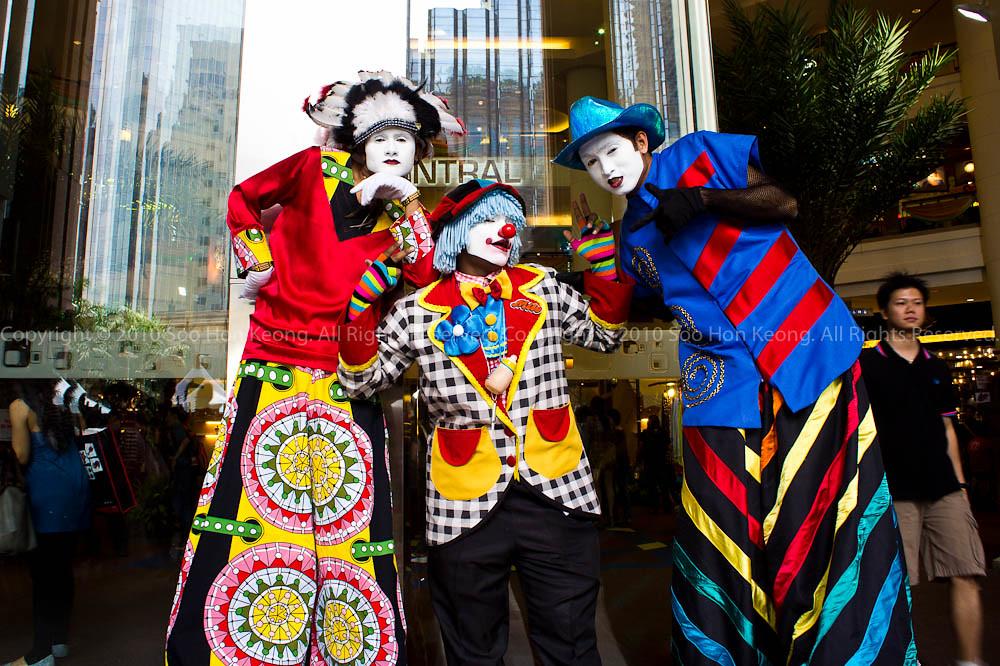Clown @ Berjaya Times Square, KL, Malaysia