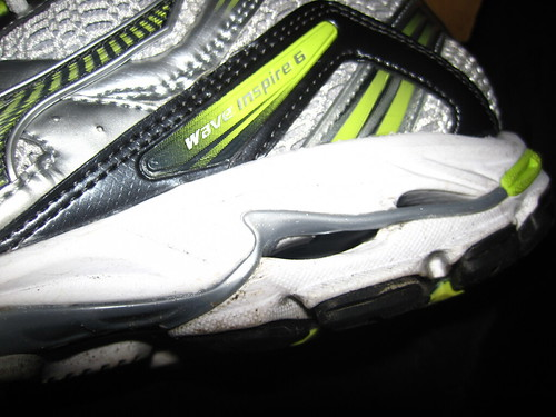 Mizuno Wave Inspire 6: Hi, my name is...
