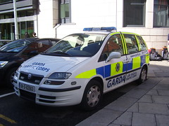 Garda Traffic Corps car (hazlettART) Tags: city ireland dublin car garda republic traffic fiat capital police august corps 2010 ulysse