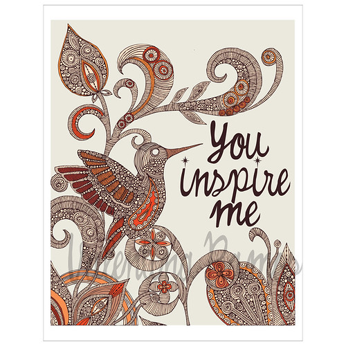 You inspire me!