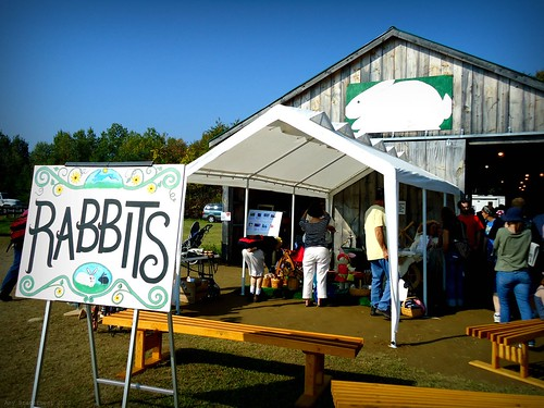 the rabbit barn