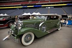 1932 Duesenberg Derham Dual-cowl Phaeton (Bill Jacomet) Tags: 1932 texas houston carshow duesenberg concoursdelegance phaeton classychassis derham dualcowl