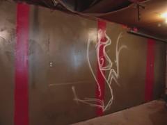 Owes Time-Lapse (Light The Underground) Tags: lightpainting painting graffiti timelapse video garage ltu owes lighttheunderground