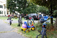 Take your bike, your stroller, your scooter, your skateboard to Jay Day (Jay Heritage Center) Tags: road blue our house ny rabbit green heritage apple animals bike boston balloons nhl facepainting jay estate treasure post carraige grant events families balloon young footprints donkey environmental cider historic pony national american cycle program environment civic educational mansion boyhood partnership con edison hudsonrivervalley sustainability 2010 distric matter twisting conedison johnjay costumed docents jayday tillyfosterfarm landmarl friendraiser hudsonriverramble jayheritagecenter youngpreservationists ourfootprintsmatter paththroughhistory